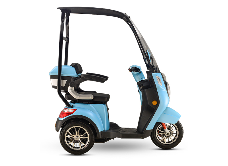 CLOSED ELECTRIC TRICYCLE FOR OLD PEOPLE OR COUNTRYSIDE