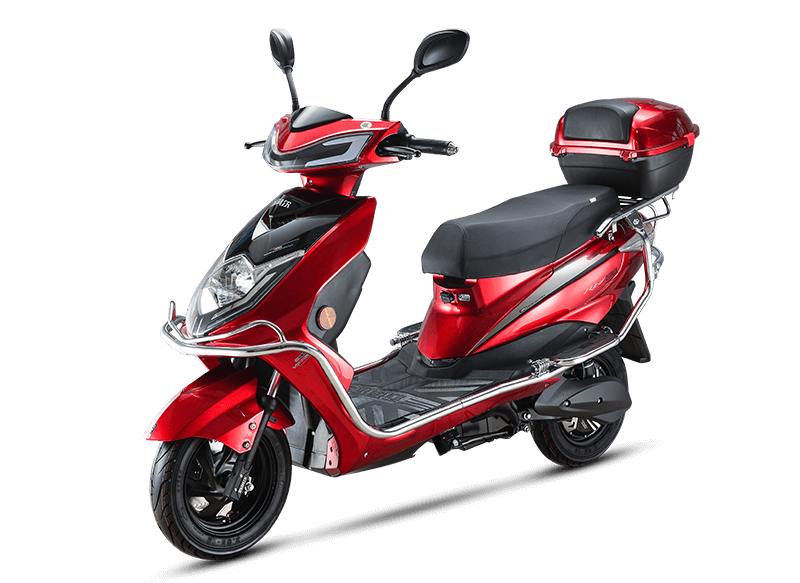 Sporty Cool Design Electric Scooter with Powerful Motor Disc Brake SQ010
